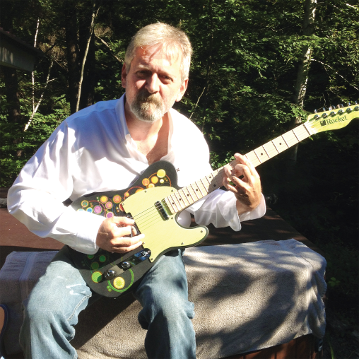Steve Bice, guitar-maker and Rocket employee