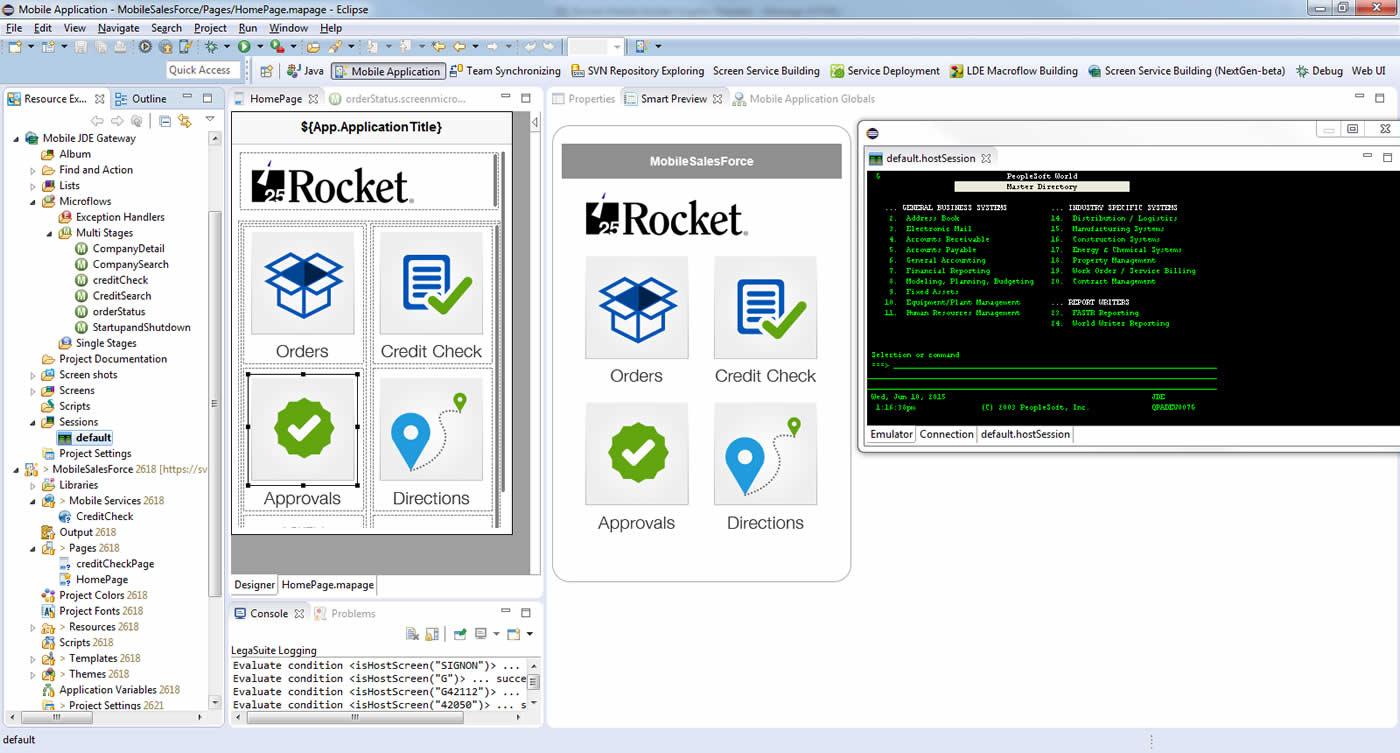 Rocket Mobile Builder