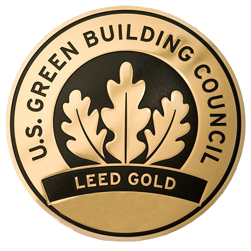 Leed Gold Medal Plaque