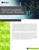 Rocket BlueZone for Basel III Datasheet