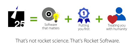 Rocket Software Philosphy Diagram