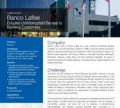 Banco Lafise iCluster Case Study