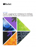 Audit Logging: An efficient, cost-effective solution