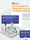 Top 5 Reasons to Modernize Your Terminal Emualtion Solution