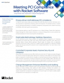 Meeting PCI Compliance with Rocket Aldon Lifecycle Manager