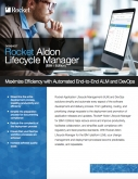 Rocket Aldon Lifecycle Manager (IBM i Edition)