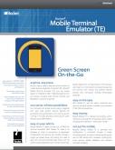 Rocket BlueZone Mobile Terminal Emulator (TE) Datasheet