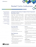 Rocket CorVu CorBusiness Datasheet