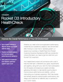 Rocket D3 Introductory HealthCheck