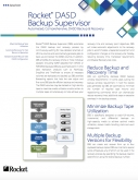 Rocket DASD Backup Supervisor