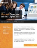 Rocket Discover & IBM Cognos TM1