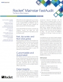 Rocket Mainstar  FastAudit