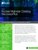 Rocket Mainstar Catalog RecoveryPlus