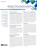 Rocket Terminal Emulation Datasheet