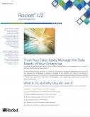 Rocket U2 Data Management