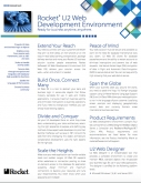 Rocket U2 Web Development Environment