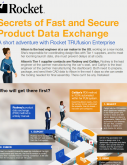 Secrets of Fast and Secure Product Data Exchange