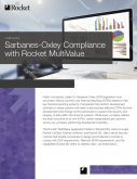 Sarbanes-Oxley Compliance with Rocket MultiValue