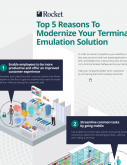 Infographic thumbnail for Top 5 Reasons to Modernize Your Terminal Emulation Solution